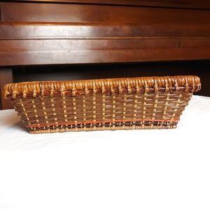 Vintage storage square basket